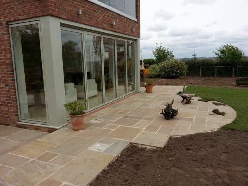 patios in staffordshire